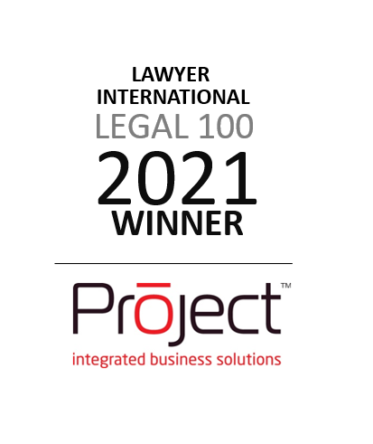 Legal 100 - Oracle Solutions Provider 2021