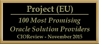 CIO Review 100 Most Promising Oracle Solution Providers