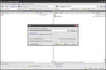 Copy DBC file locally