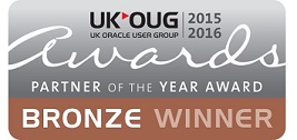 UKOUG Oracle Business Analytics Partner of the Year Award 2015-2016