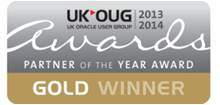 UKOUG Primavera and Oracle Projects Partner of the Year Award 2013-2014