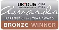 UKOUG Primavera and Oracle Projects Partner of the Year Award 2014-2015