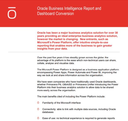 Power BI data sheet