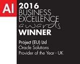 UK Oracle Solution Providers 2016