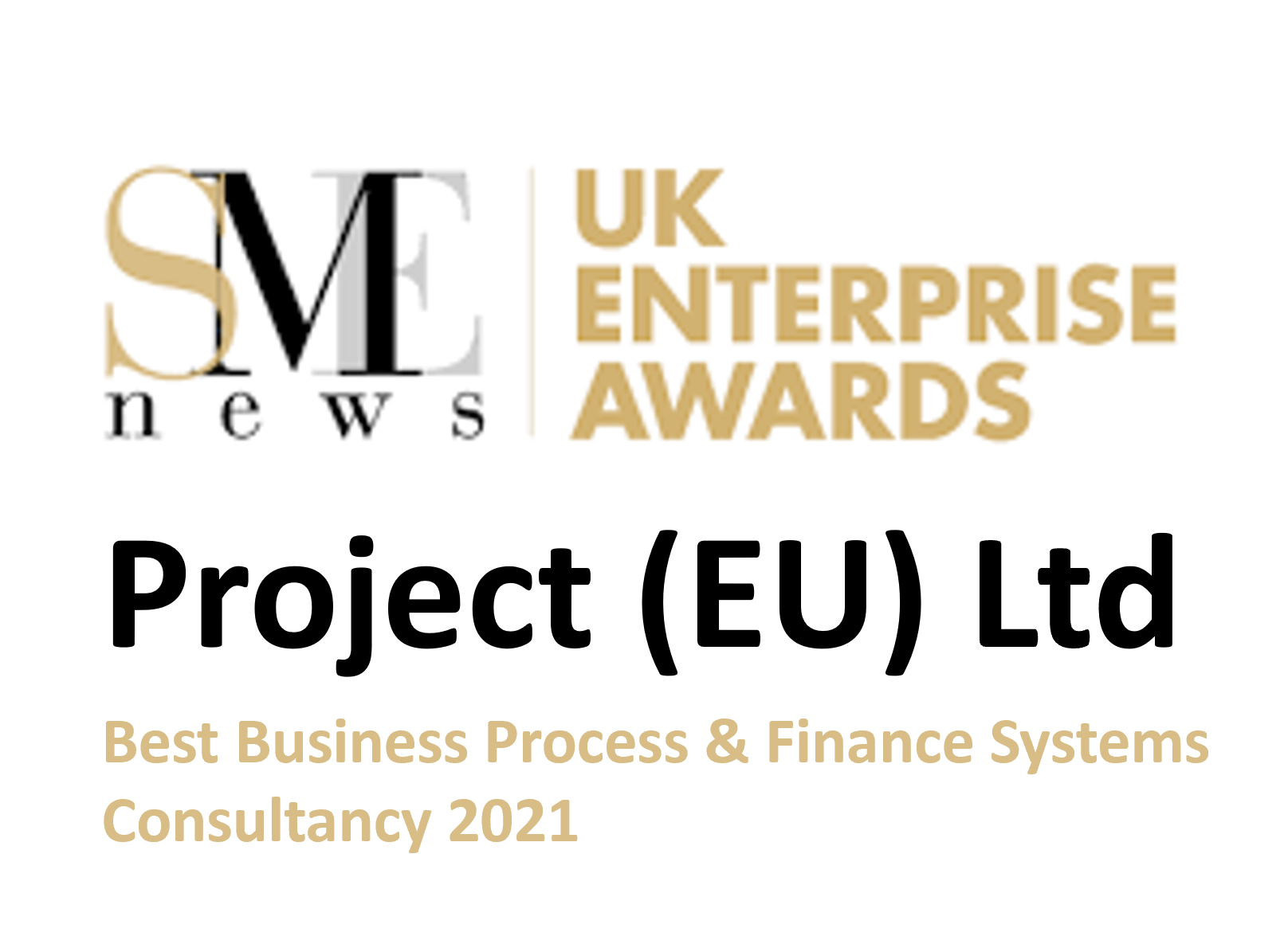 Best Business Process & Finance Systems Consultancy of the Year