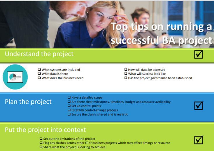 How to run a successful BA project