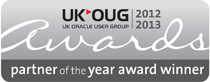 UKOUG Primavera and Oracle Projects Partner of the Year Award 2012-2013