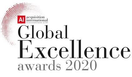 2020 Global Excellence:  Most outstanding business solutions